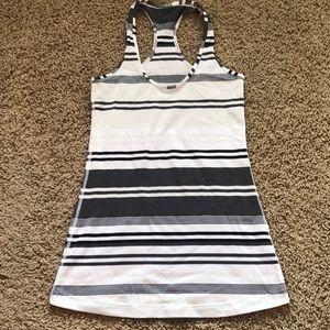 Lululemon Cool Racerback variant stripes